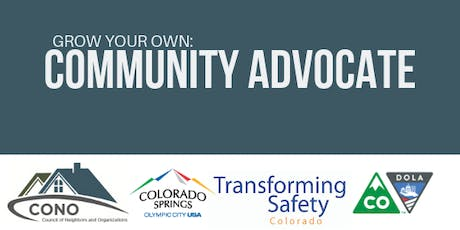 Grow Your Own: Community Advocate Commencement & Networking tickets
