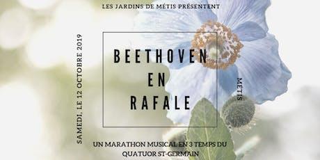 Beethoven en rafale billets