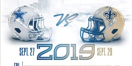 Dallas 2 New Orleans Weekend 2019 {Cowboys vs Saints}