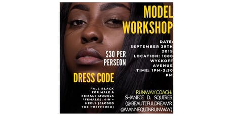 Mannequin Runway: Model Runway Workshop tickets