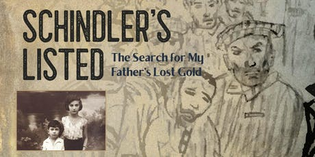 Schindler's Listed: The Search for My Father's Lost Gold: An Evening with Author Dr. Mark Biederman tickets