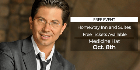 (FREE) Millionaire Success Habits revealed in Medicine Hat by Dean Graziosi tickets