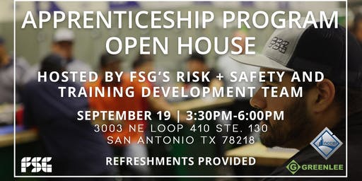 FSG Apprenticeship Program Open House - San Antonio