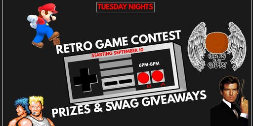 Retro Video Game Night Tuesdays