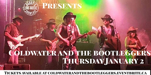Coldwater and the Bootleggers - Gabby's Live Music Showcase
