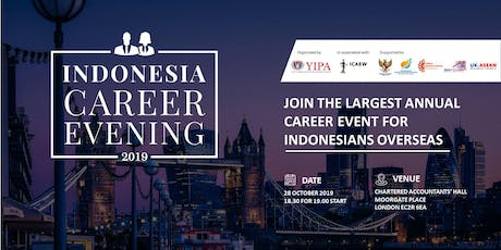Indonesia Career Evening 2019 (Professionals  Admission Ticket) tickets