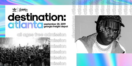 Destination: Atlanta tickets
