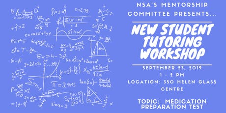 New Student Tutoring Workshop tickets