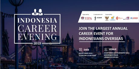 Indonesia Career Evening 2019 (Students Admission Ticket) tickets