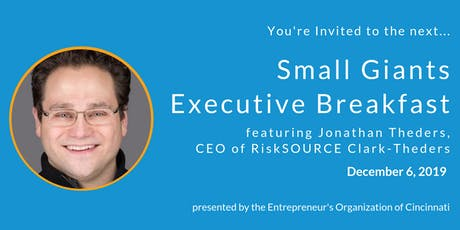 Small Giants Executive Breakfast featuring Jonathan Theders tickets
