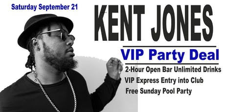 KENT JONES - SATURDAY - 09-21-2019 tickets