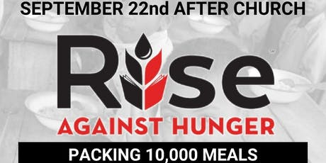 Rise Against Hunger Meal Packing tickets