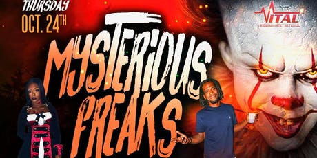 MYSTERIOUS FREAKS - HALLOWEEN PARTY tickets