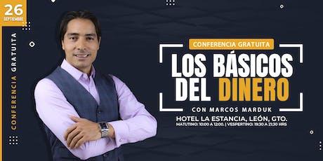 """Conferencia Gratuita """"Los Básicos Del Dinero"""" en León boletos"""