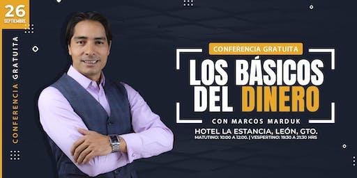 """Conferencia Gratuita """"Los Básicos Del Dinero"""" en León"""