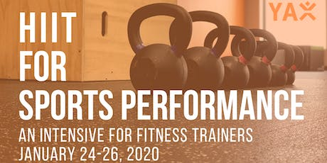 HIIT for Sports Performance Intensive tickets