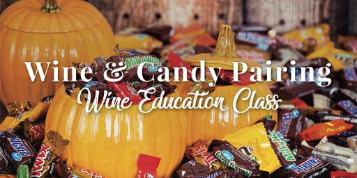 Wine & Candy Pairing
