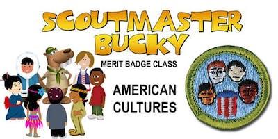 American Cultures Merit Badge - 2019-12-21 - Saturday PM - Scouts BSA