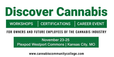 Cannabis Community College  Workshop Series - 3 Day VIP FULL ACCESS  PASS