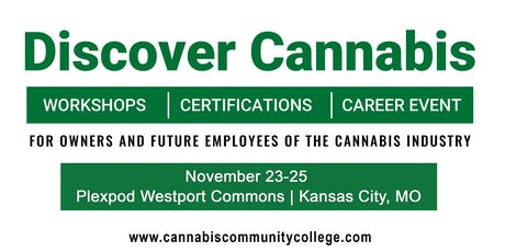 Cannabis Community College  Workshop Series - 3 Day VIP FULL ACCESS  PASS tickets