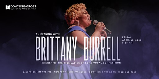 An Evening with Brittany Burrell