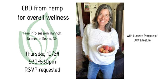 CBD from Hemp info night
