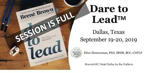 Dare to Lead Training - Dallas, Texas