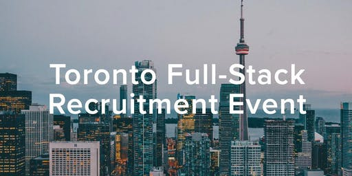 HiredEvents - Toronto Full-stack Developer Recruitment (Oct 24)