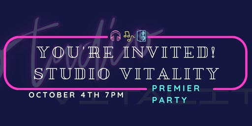 Studio Vitality Premier Party
