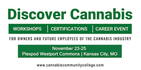 Cannabis Community College  Workshop Series - 3 Day Pass tickets
