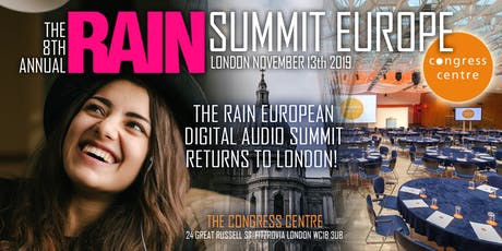 RAIN Summit Europe 2019 at the Congress Centre tickets
