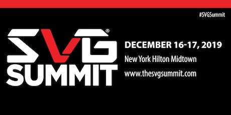 SVG Summit tickets