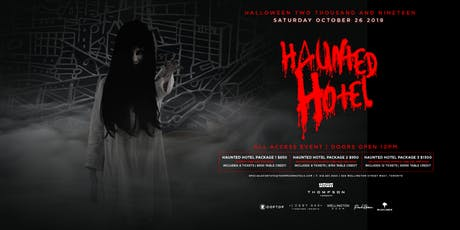 The Haunted Hotel at The Thompson - 2019 tickets
