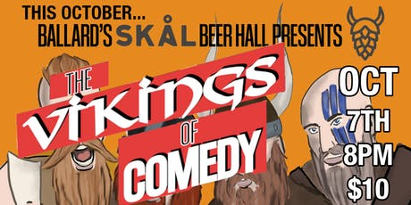 The Vikings of Comedy Show tickets