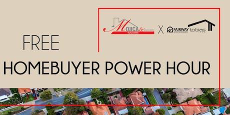 "Free ""HomeBuyer"" Power Hour  tickets"