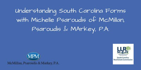 Understanding South Carolina Forms with Michelle Psaroudis tickets