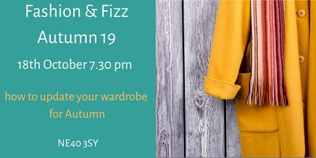Fashion & Fizz Autumn 19 tickets