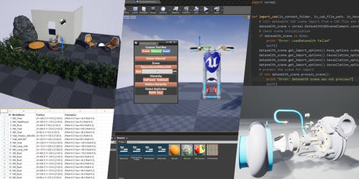Unreal Engine: Automating Data Preparation with Blueprint & Python