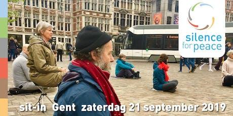 Etentje en napraten • Silence for Peace 2019 Gent tickets