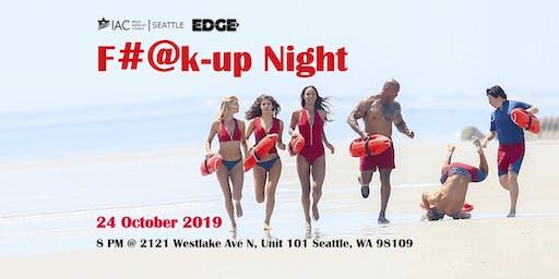 EDGE YP Seattle - F#@k-up Night