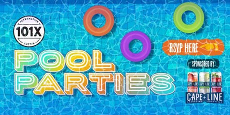 101X Pool Party tickets