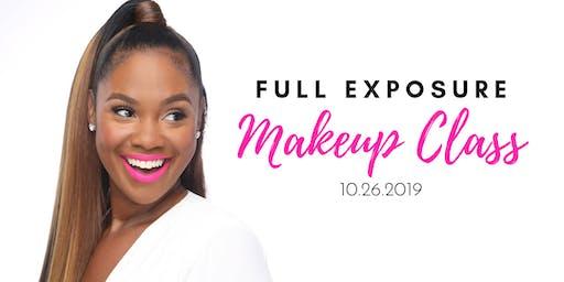 Full Exposure Makeup Class