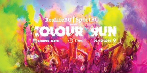 SportBU & ResLifeBU | Colour Run