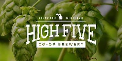 High Five Co-op Brewery Annual Members Meeting - September 22, 2019