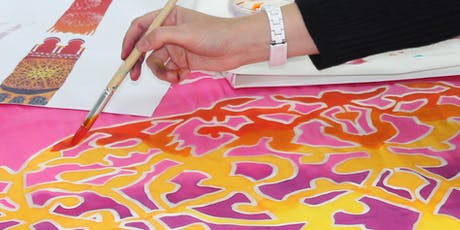 Inspired Palmer Silk Painting Workshop tickets