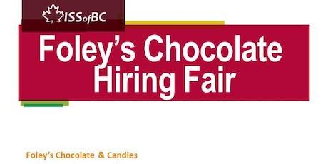 Foley's Chocolate Hiring Fair tickets
