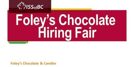Foley's Chocolate Hiring Fair