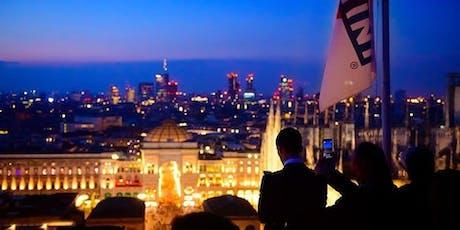 IL Salotto sul tetto di Milano al 16° Piano di Terrazza Martini biglietti
