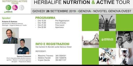Nutritio & Active Tour 2019 biglietti