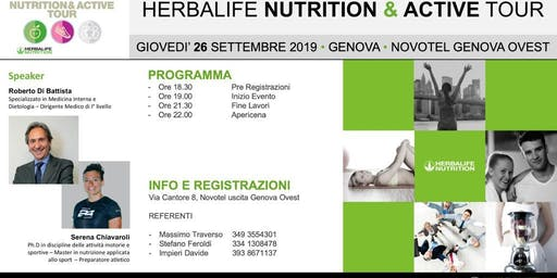 Nutritio & Active Tour 2019